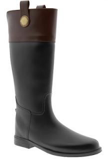 Banana Republic Roman esquestrian rain boots