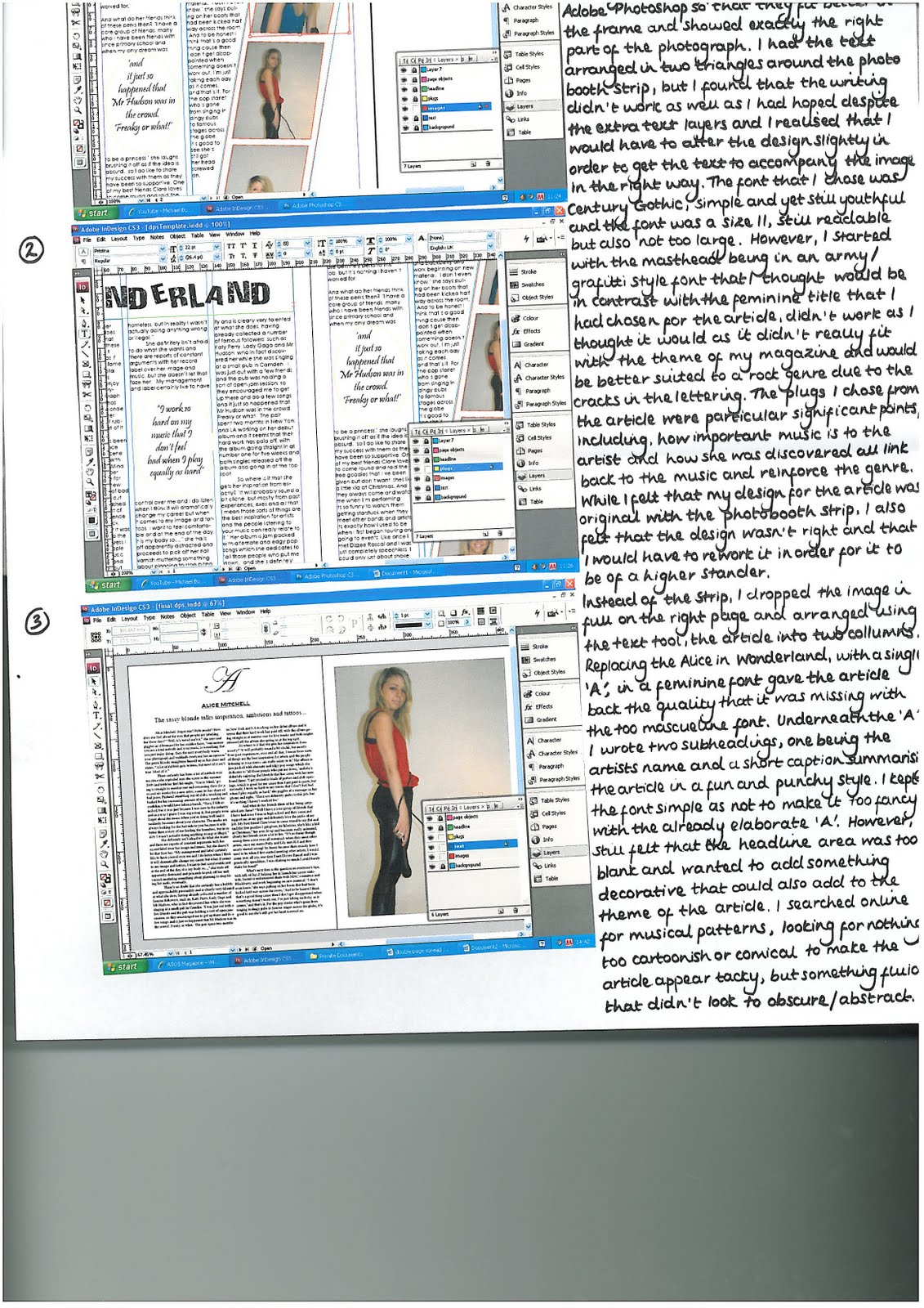 Clare Waddicor 0901 G321FOUNDATIONQuestion And Answer Magazine Format
