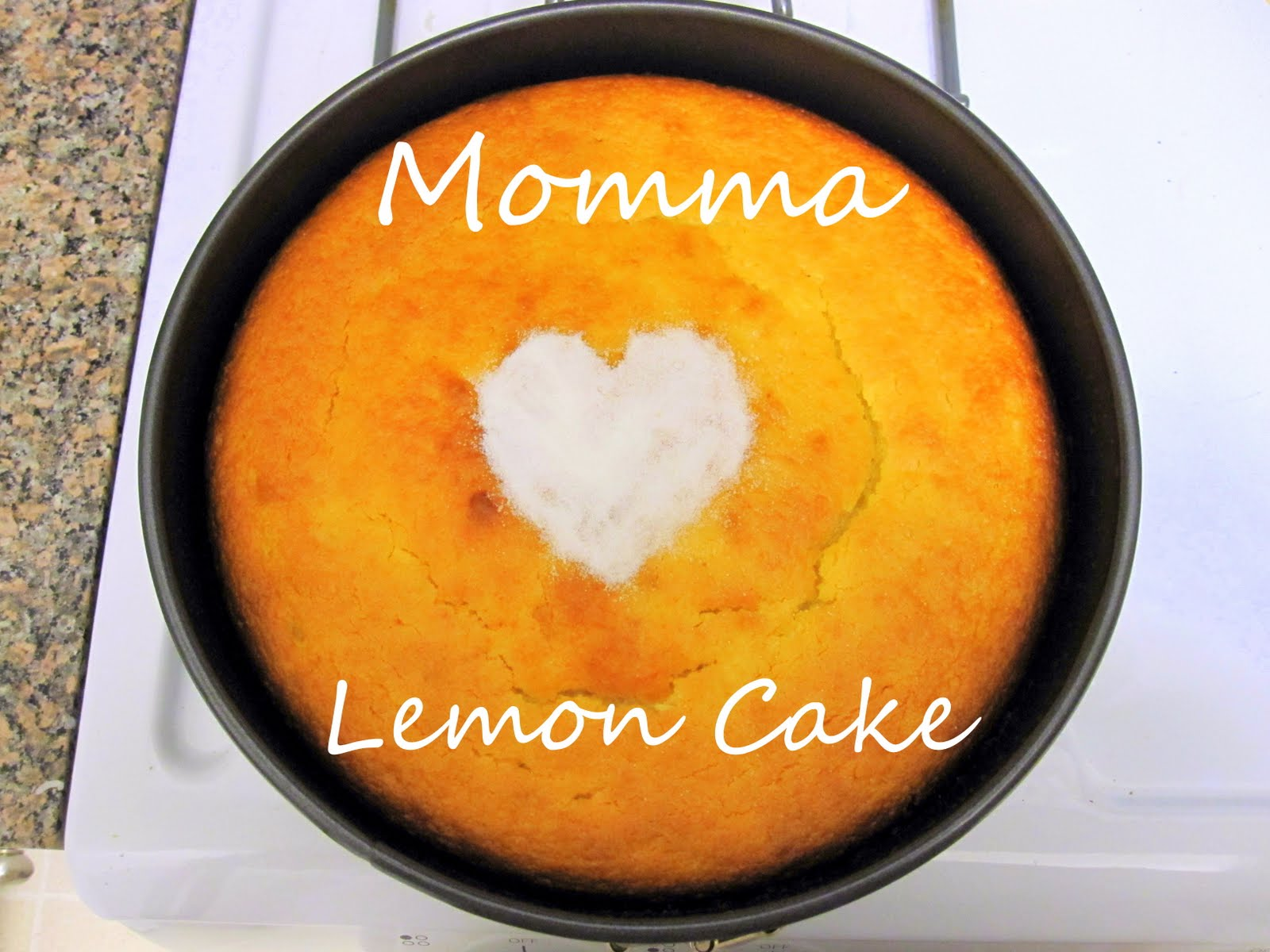 Dairy Free Lemon Sponge Cake Recipe