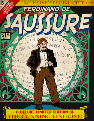 I wish I had a mustache - Ferdinand de Saussure