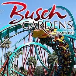 O Busch Gardens fica