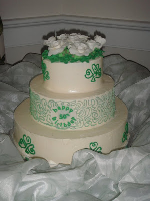 irish birthday cake