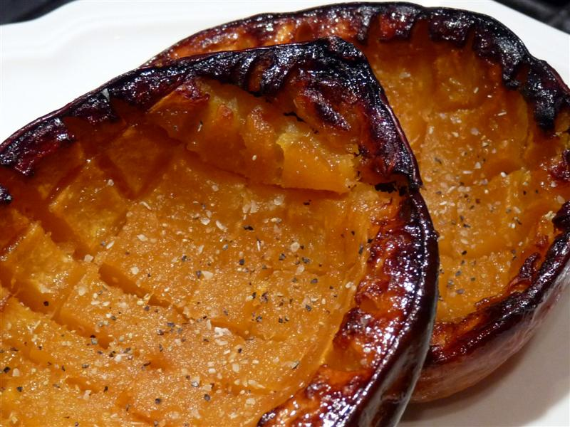 Oven Roasted Acorn Squash ButterYum
