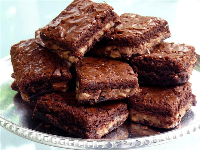 almond toffee brownies symphony