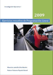 Ejercicios Resueltos de Programacion Lineal Ejercicios resueltos de Programación Lineal