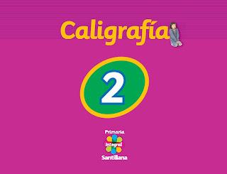 Caligrafia 2 Primaria Integral por Santillana