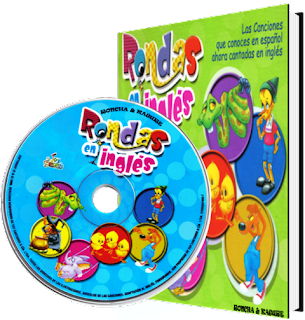Rondas en Inglés musica infantil CD + Libro