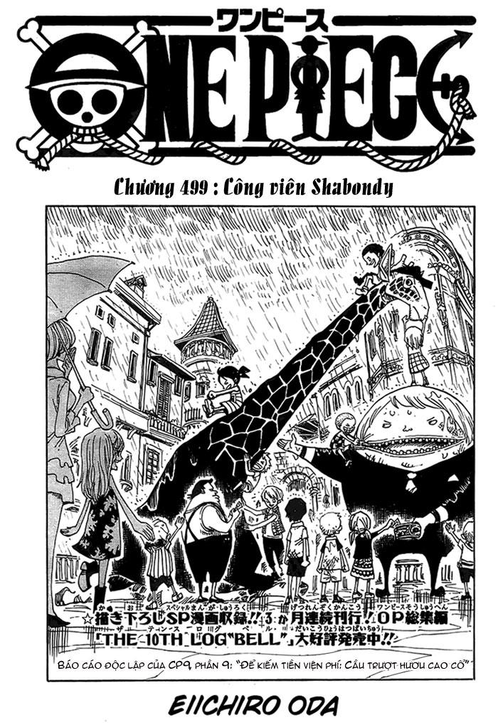 One Piece - Đảo Hải Tặc trang 3
