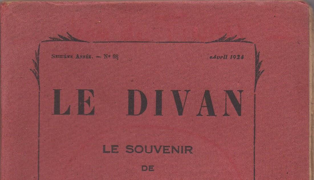Livrenblog le divan le souvenir de jean de tinan for Divan 4 lettres
