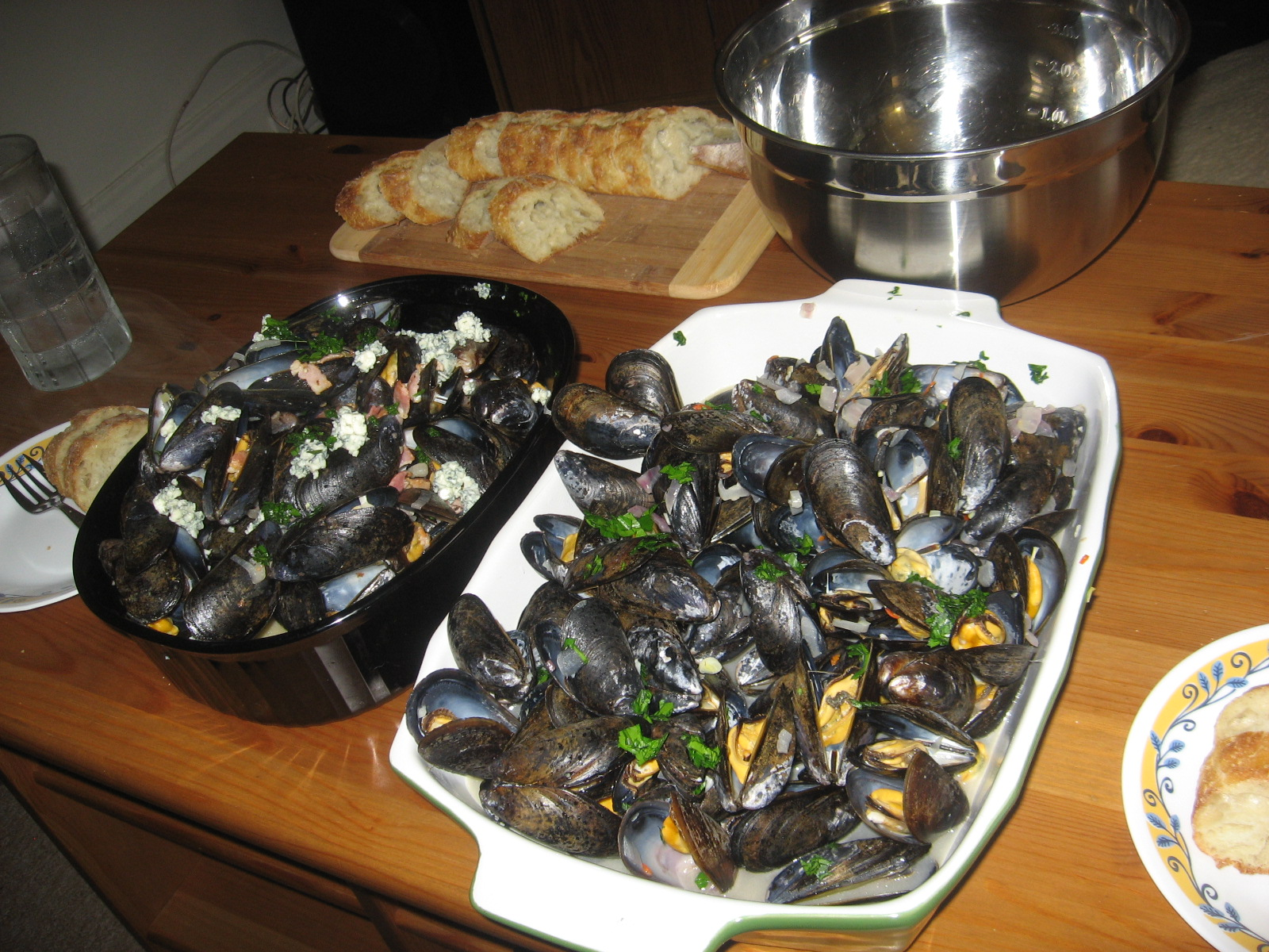 how to cook mussels on bbq