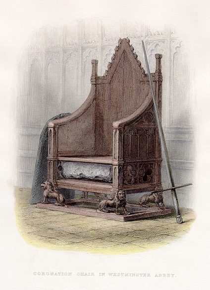 Medieval News: England's 700 year old Coronation Chair to be restored