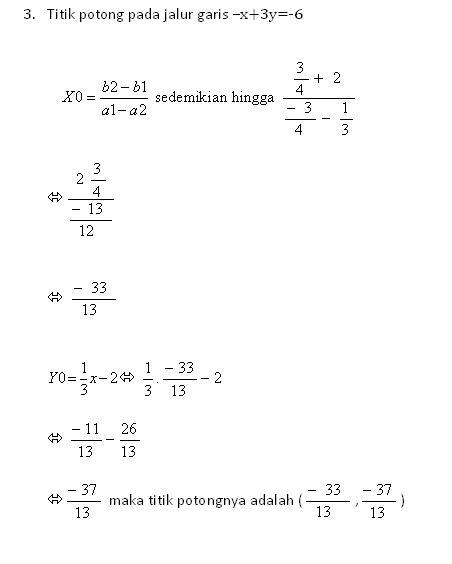 Catatan Kecil Koe Pembahasan Quiz Matematika Part 1