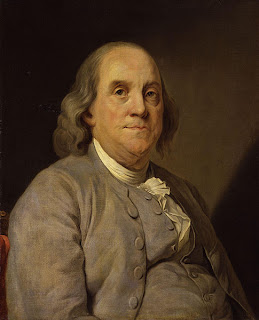 Benjamin Franklin, American pimpmeister. Image obviously not mine.