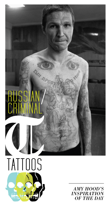 The Art of Amy Hood: Russian Criminal Tattoos, London Exhibits,