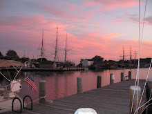 Sunset at Mystic Seaport
