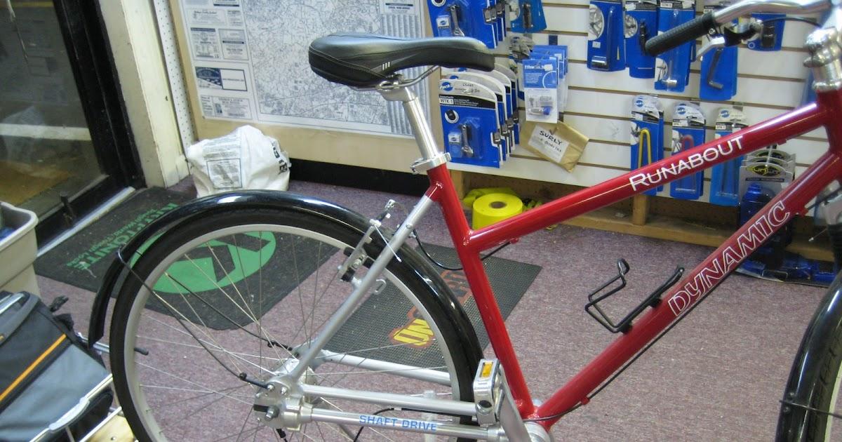 Spokes Of A Wheel Shaft Drive Bikes