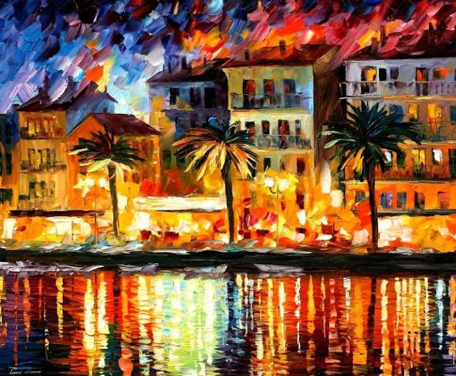 Pinturas al Óleo por Leonid Afremov