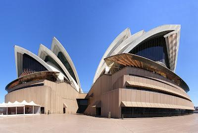 La Ópera de Sídney o Casa de la Ópera de Sídney