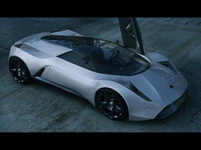 Carros Lamborghini Insecta Concept 2009