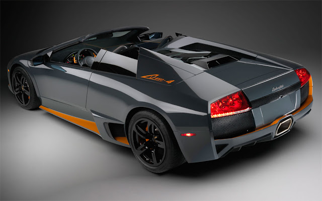 Wallpapers Lamborghini Murcielago LP 650-4 Roadster 2009