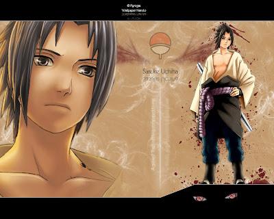 Wallpapers - Fondos de Pantalla - Sasuke Uchiha - 1600 x 1200