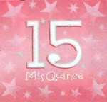 ¡Mis brillantes Quince Años!