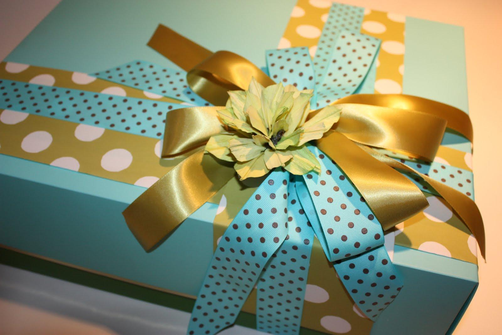 Украшение подарков на день рождения своими руками 19