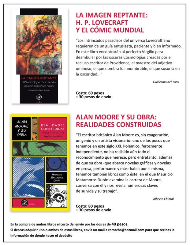 Libros: Lovecraft y Moore
