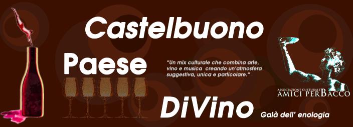 CASTELBUONO PAESE DIVINO Galà dell'enologia