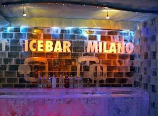 icebar em Milão, Itália 2