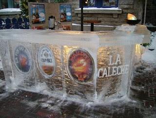 icebar em Quebec, Canadá 2