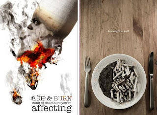 Anúncio anti-fumo