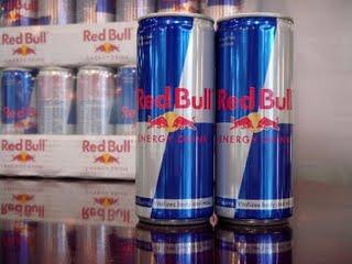 Energético  Red Bull com cocaína