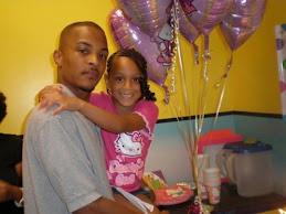 T.I. and Daddy's Girl Deyja on her Birthday