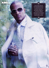 T.I. on the cover of KING Magazine November 2008