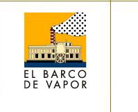 """PÁXINA DE """"EL BARCO DE VAPOR"""" con orientacions para a lectura, catálogo, novidades, etc."""