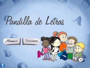 PANDILLA DE LETRAS: Xogo de lectoescritura