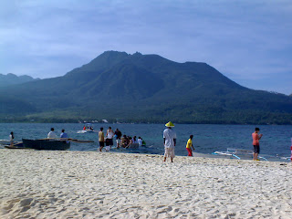 Camiguin Island view from White Island