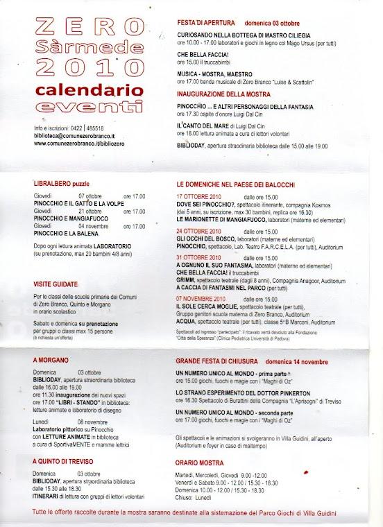 Programma Zero Sàrmede / Mailart Inaugurazione / chiusura