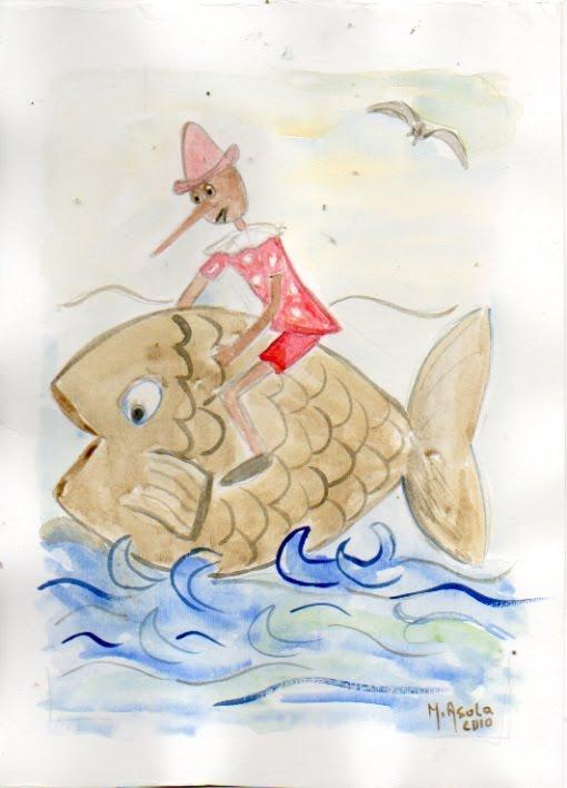 Il tonno salva Pinocchio