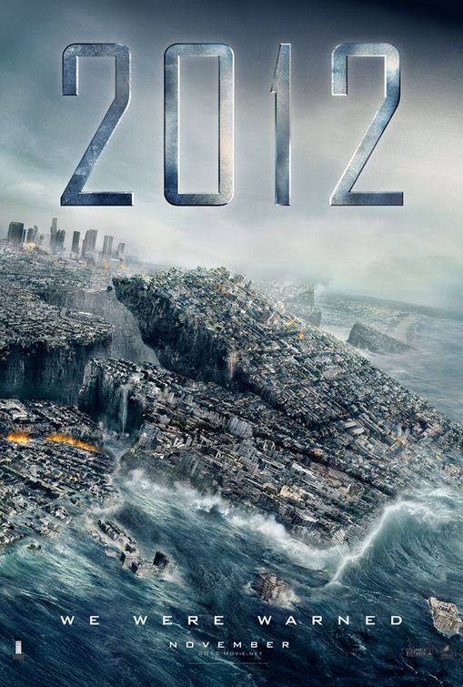 So today I'm going to be reviewing the new movie 2012, which just hit