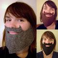 Barba para disfraz