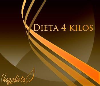 Dieta 4 kilos