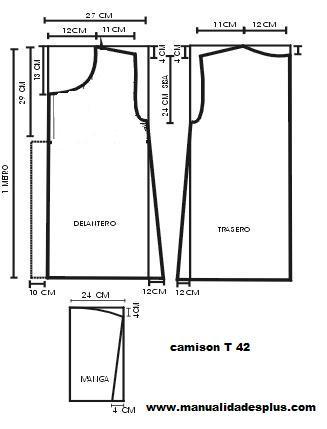 Como hacer un camison