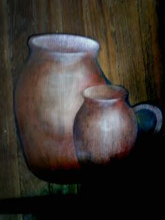 Pintar sobre ruberoid