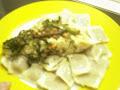 Ravioli light con tofu a las hierbas:450 cal aprox.