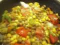 Receta de pollo y vegetales, receta comida para dieta.