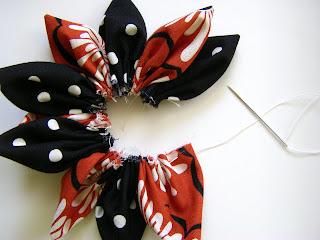 para realizar flores de tela para realizar broches o como existen muchas tecnicas esta es una tecnica mas entre tantas es especial para
