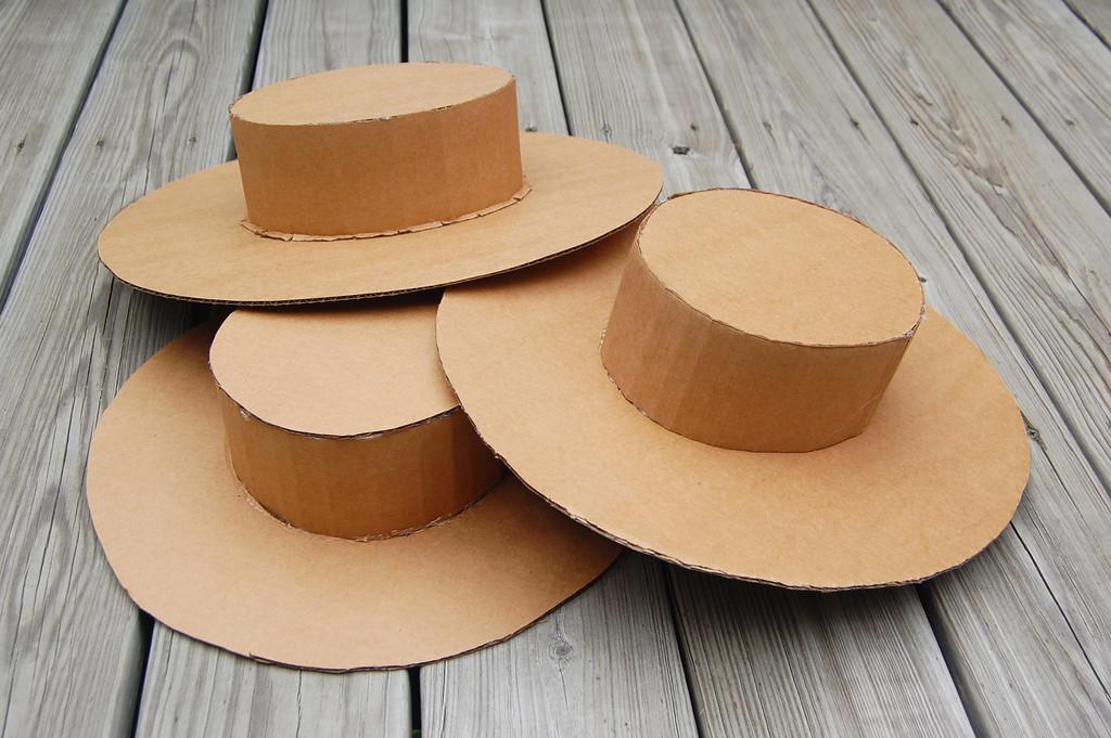 Шляпа из бумаги для мальчика своими руками как сделать 16