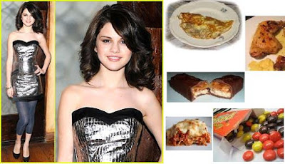 Dieta de Selena Gomez